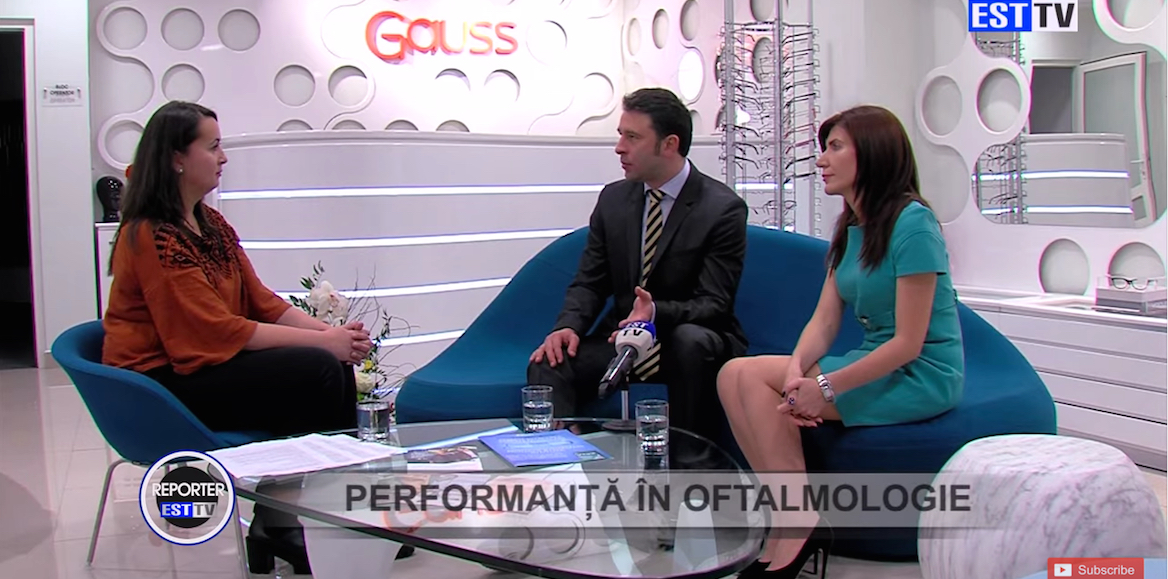 Gauss: Performanta in oftalmologie!
