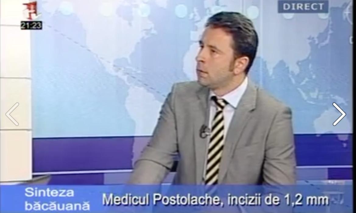 Dr. Cristian Postolache – Sinteza bacauana, 1TV