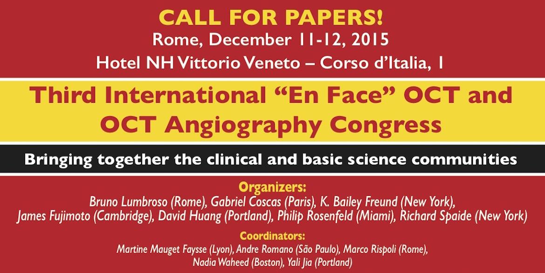 Dr. Cristian Postolache si Dr. Oana Chelaru Postolache au participat la al 3-lea Congres International de Angio – OCT