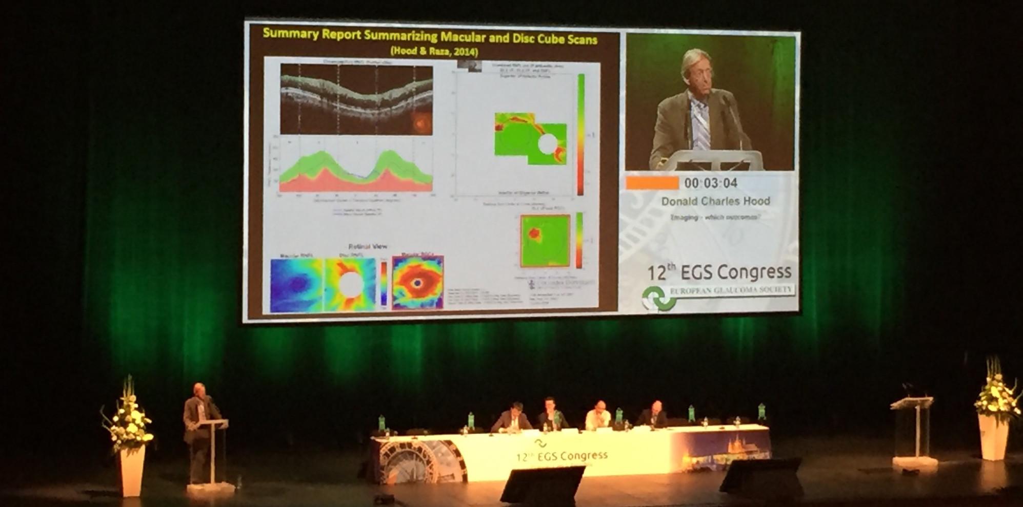 Dr. Oana Chelaru a participat la al 12-lea Congres al Societatii Europene de Glaucom