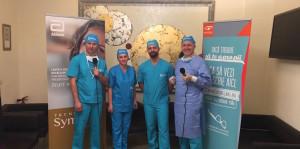 Dr.Postolache Live Surgery 2016