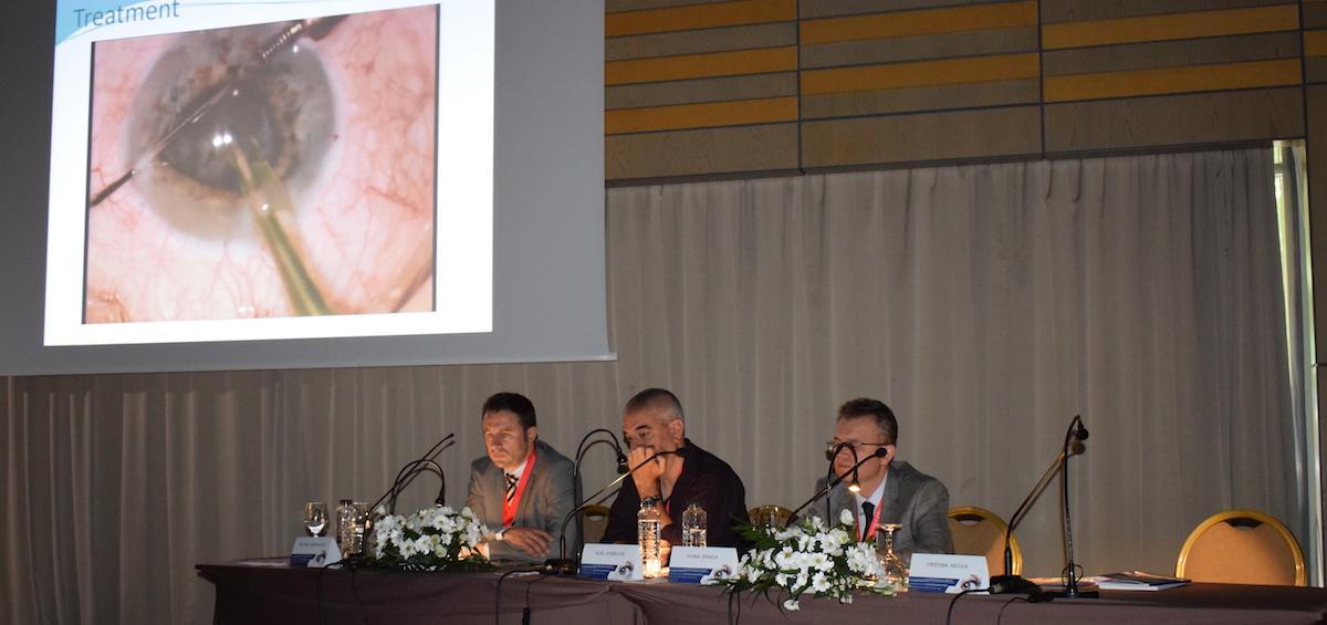 Echipa Gauss la Congresul  Societatii Romane de Cataracta si Chirurgie Refractiva 2017