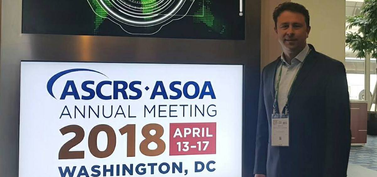 Medicii clinicii Gauss, Oana Chelaru si Cristian Postolache, au participat  la intalnirea anuala ASCRS*ASOA