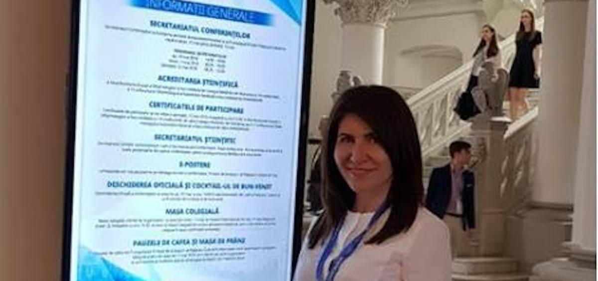 """Echipa Gauss a participat  in perioada 10 – 12 mai la """"A 54-a Reuniune Anuala a Oftalmologilor RAO 2018"""", organizata la Palatul Culturii in Iasi"""